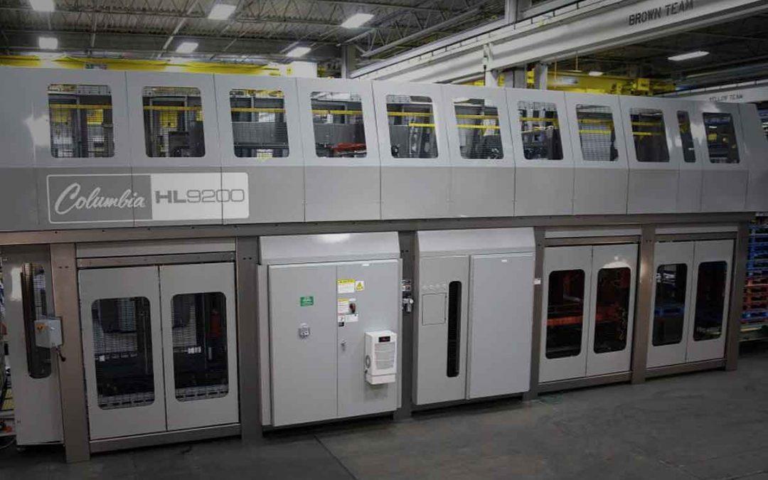 Columbia Machine Introduces New Palletizer Machine